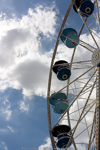 Ferris Wheel at the Exton Square Mall Spring Carnival