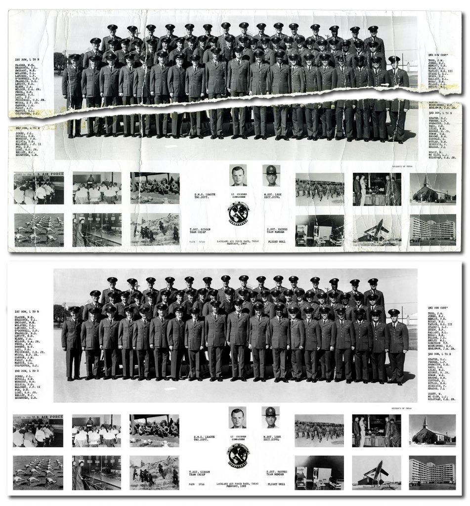 US Air Force Graduating class 1969 - (Sqdn 3710 - Flt 0011)