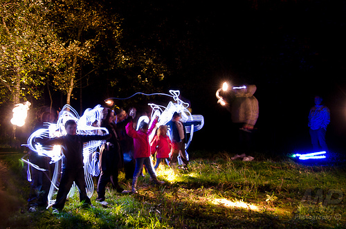 Light Painting Meet-Up – Chester County