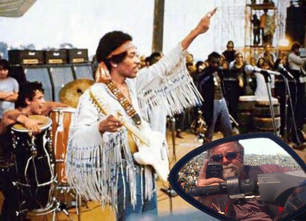 Skip with Jimi Hendrix (1969)