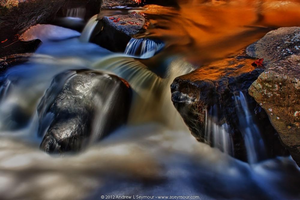 Fall Water Rocks