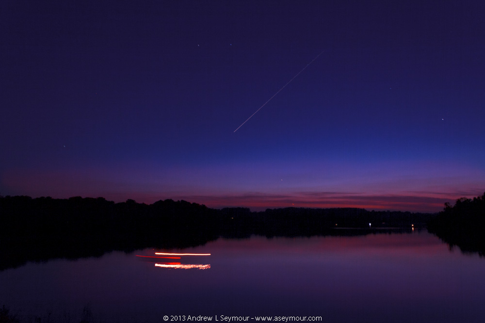 Jupiter and Venus over Marsh Creek State Park