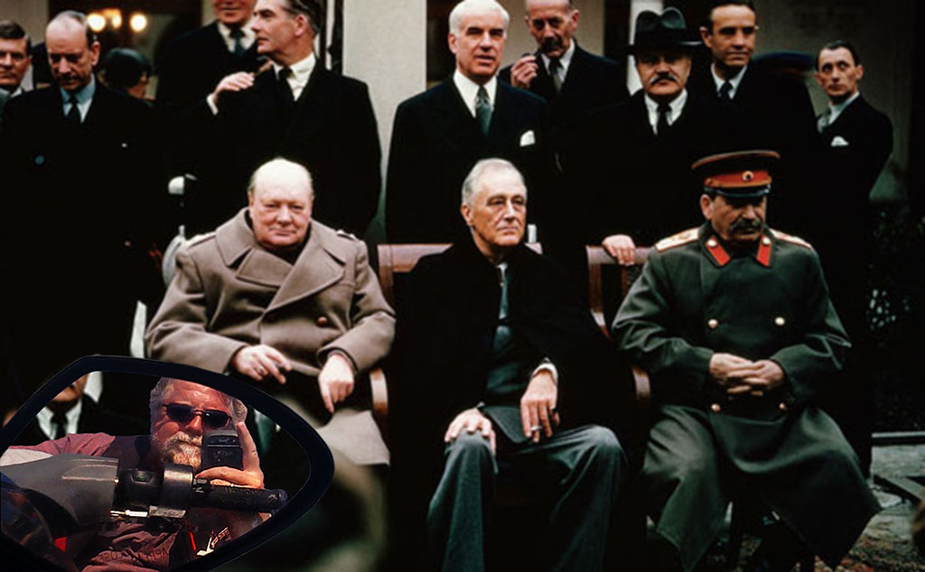 Skip at the Yalta Conference (1943)
