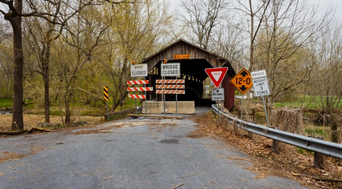 Speakman #1 Covered Bridge – 4 years later