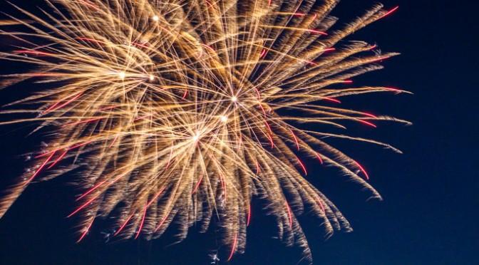 Fireworks & Super Moon
