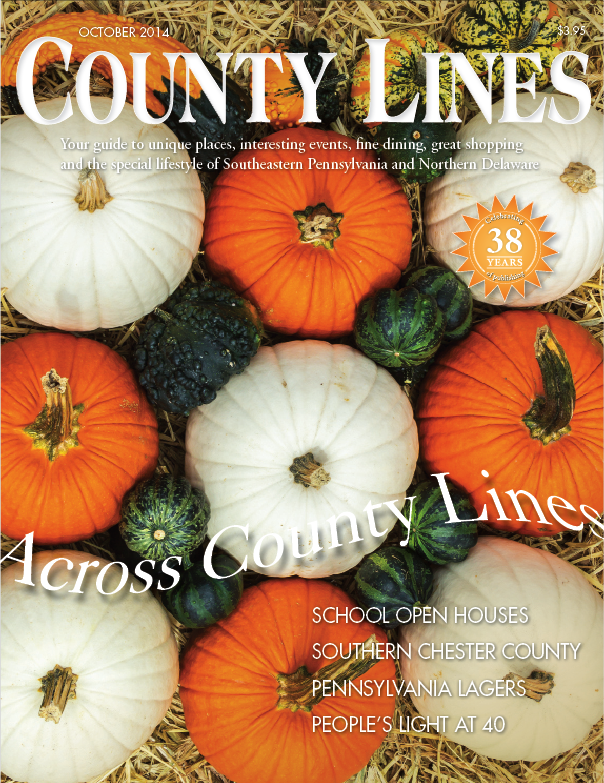 October 2014 Cover - County Lines Magazine