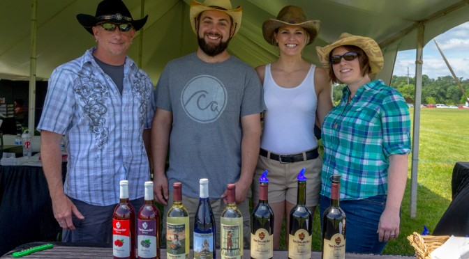 Ten Gallon Hat Winery at the Brandywine Food & Wine Festival