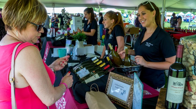 Penns Woods Winery at the Brandywine Food & Wine Festival