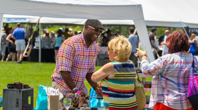 Brian Hearns-LivnSoL at the Brandywine Food & Wine Festival