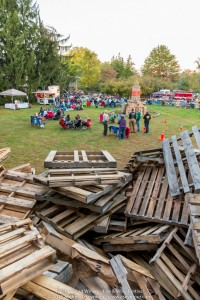 Before the Lighting of the bonfire - Images taken during the 3rd Annual Fire and Wine Festival at Black Walnut Winery.