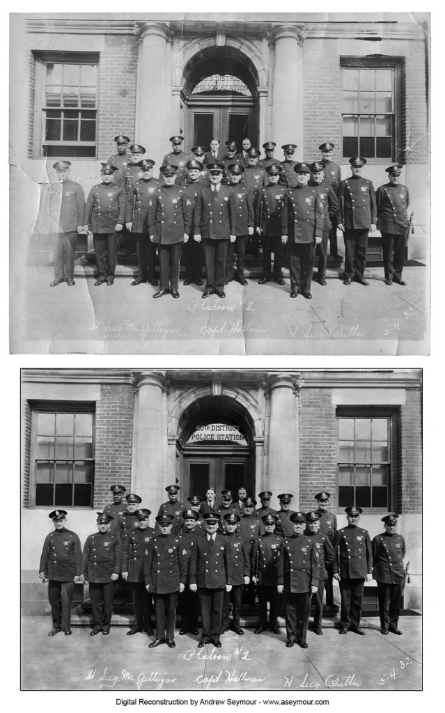 Restoration of Philadelphia Police 1932 - Second Platoon, 40th District